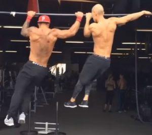 Golds Gym Men's Chinning Bar Accessories - Black