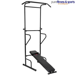 Pure Fitness and Sports PS300 Pull Up Station - Black